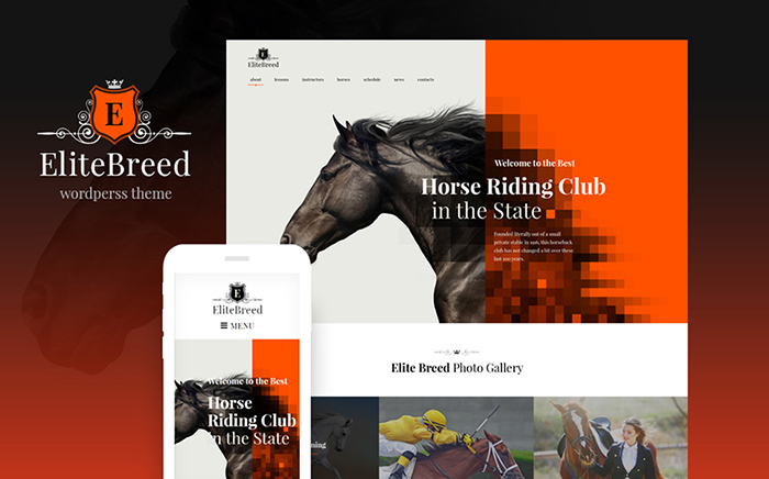Horse Racing WordPress Theme