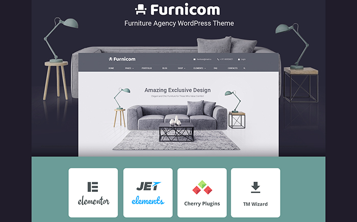 Furniture Store WP Theme