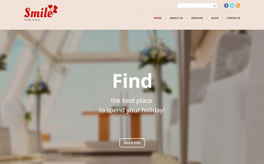 Holiday WP Theme