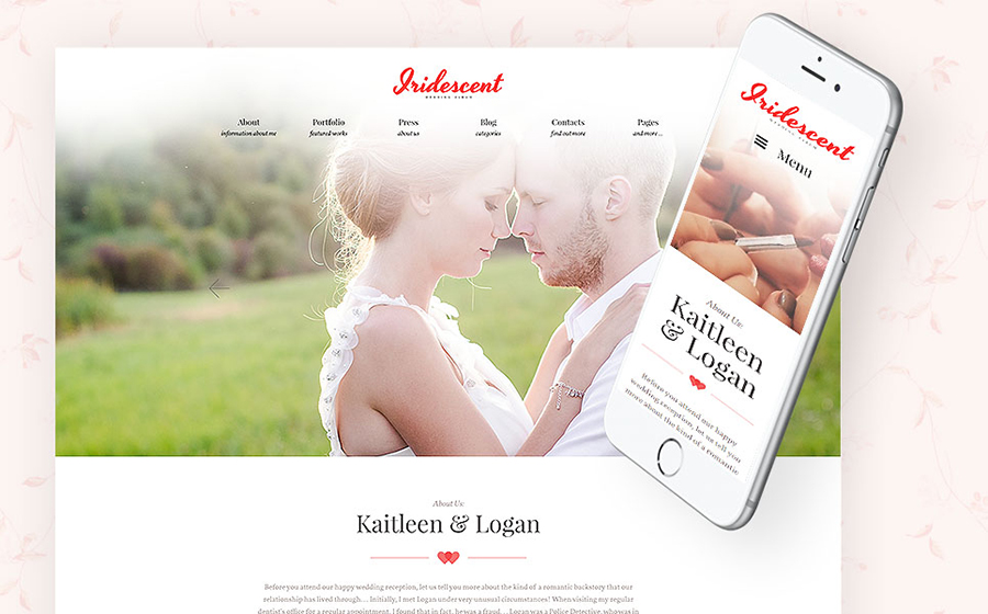 Wedding Album Maker WordPress Theme