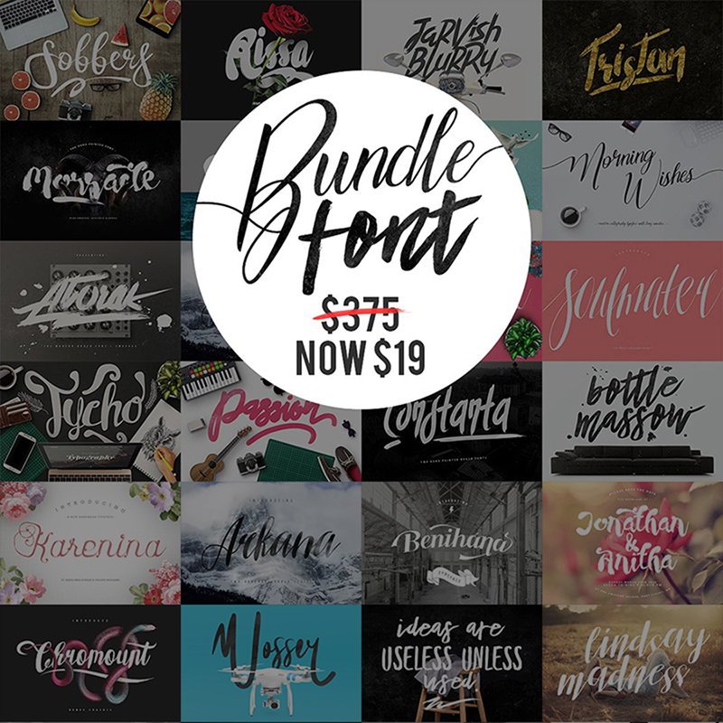 Mega Fonts - Bundle