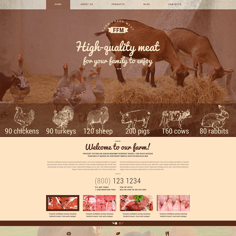 Farm WP Theme