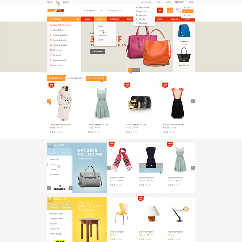 VinShop - The Best Store WooCommerce Theme
