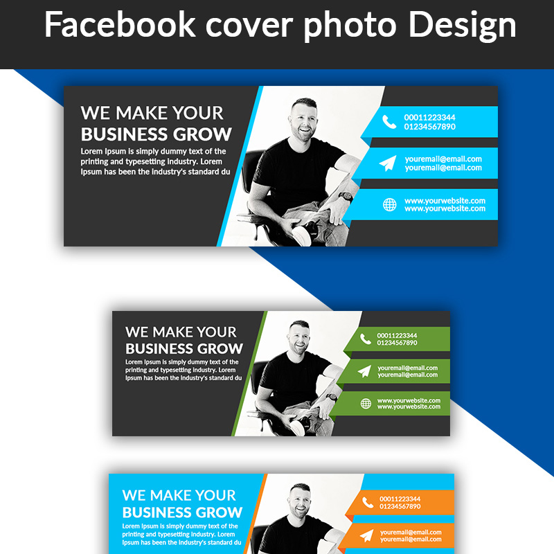 Facebook Cover Photo Design Social Media