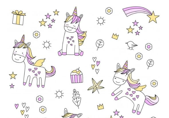 Unicorn Clipart bundle