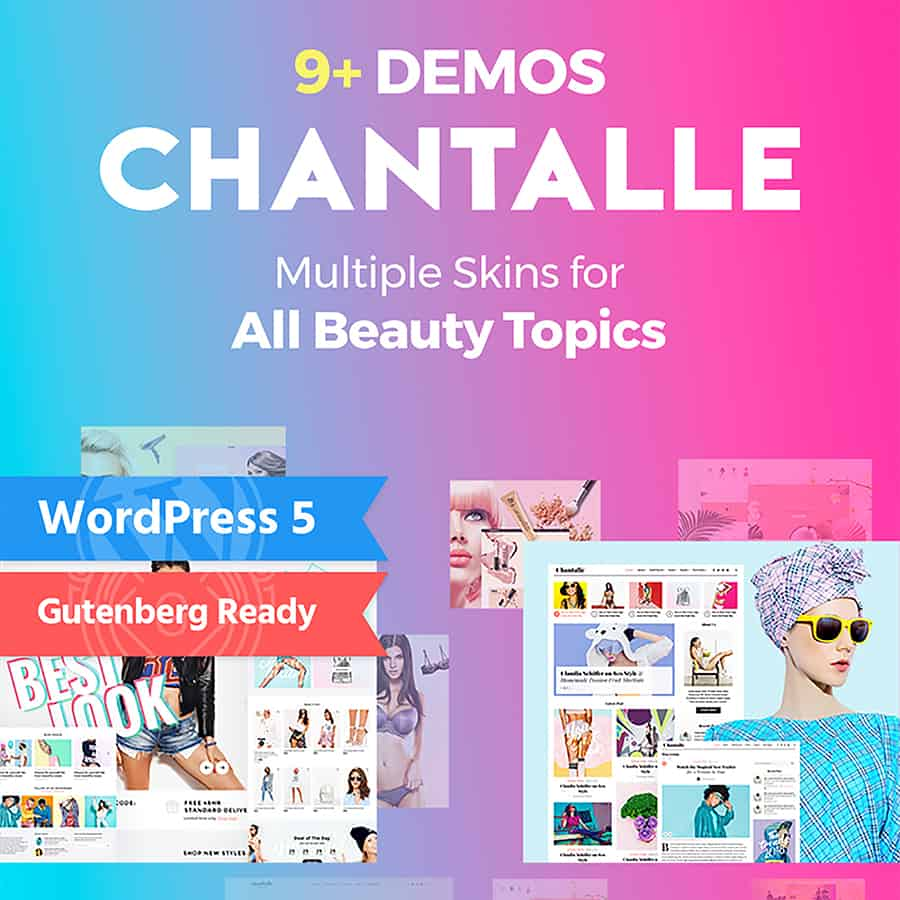 Chantalle - Fashion Stylist WordPress Theme