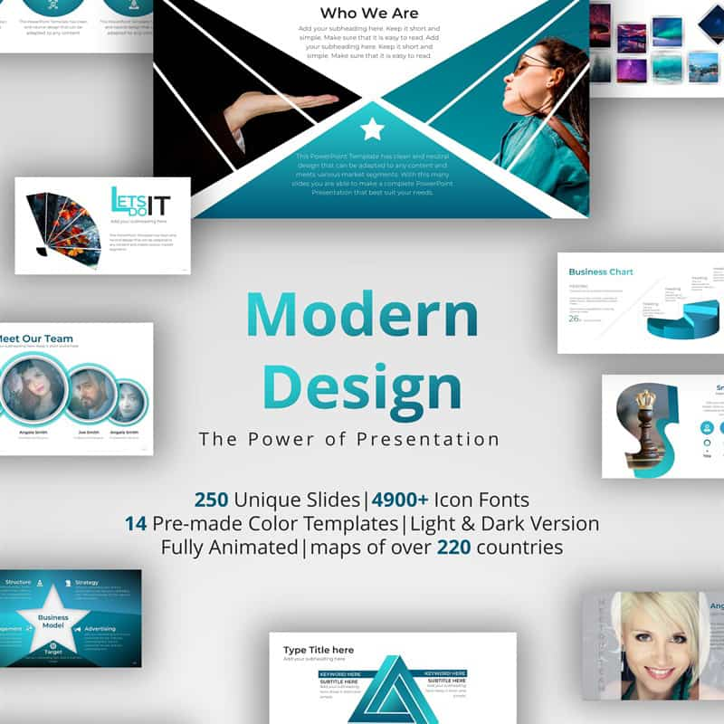 Modern Design PowerPoint Template