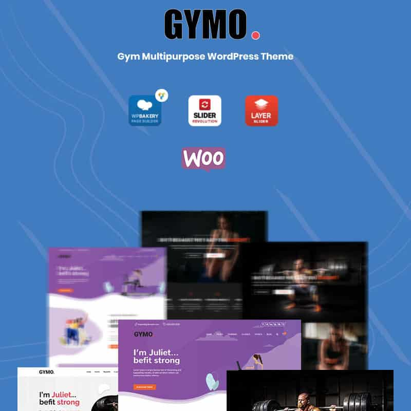 Gymo Gym Multipurpose WordPress Theme
