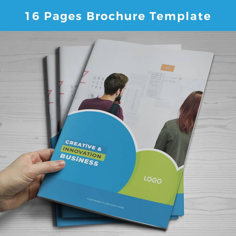 Creativesio Business Brochure Design:  Pages Corporate Identity Template