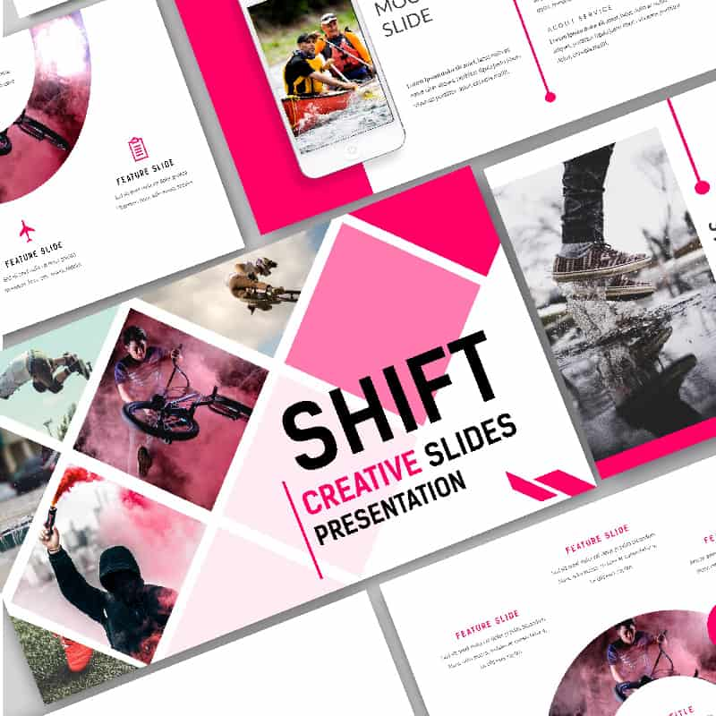 Shift Creative PowerPoint Template