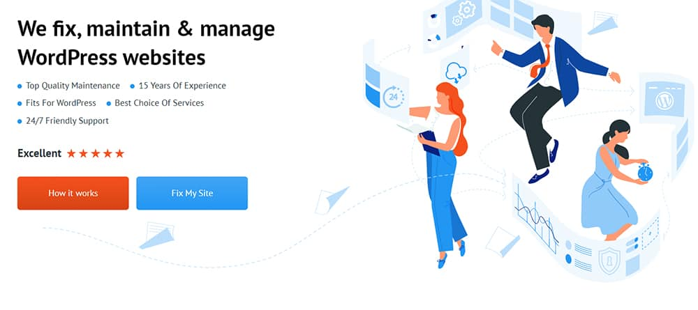 Website Maintenance Services by TemplateMonster