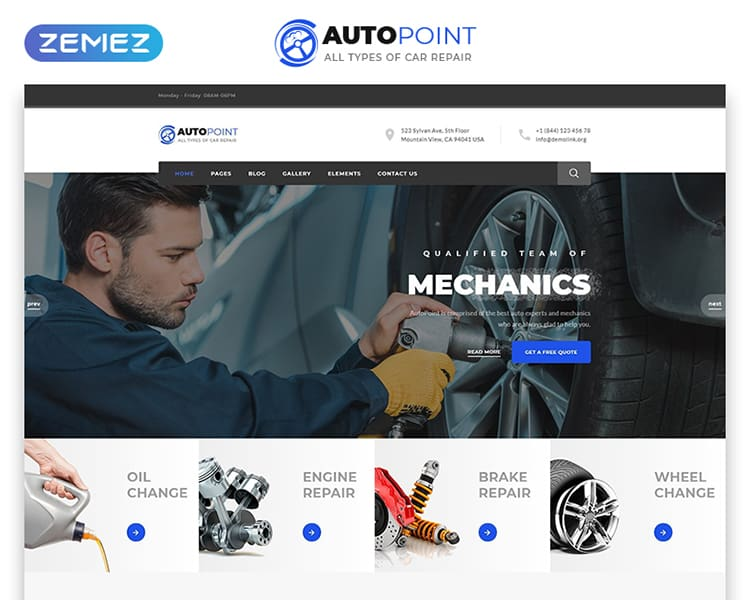 Autopoint Multipage HTML Template