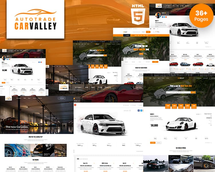 Carvalley | Auto Market HTML5 Website Template