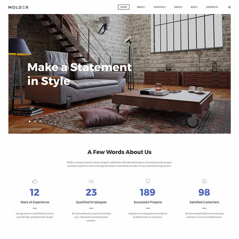 Interior Design Company HTML Template