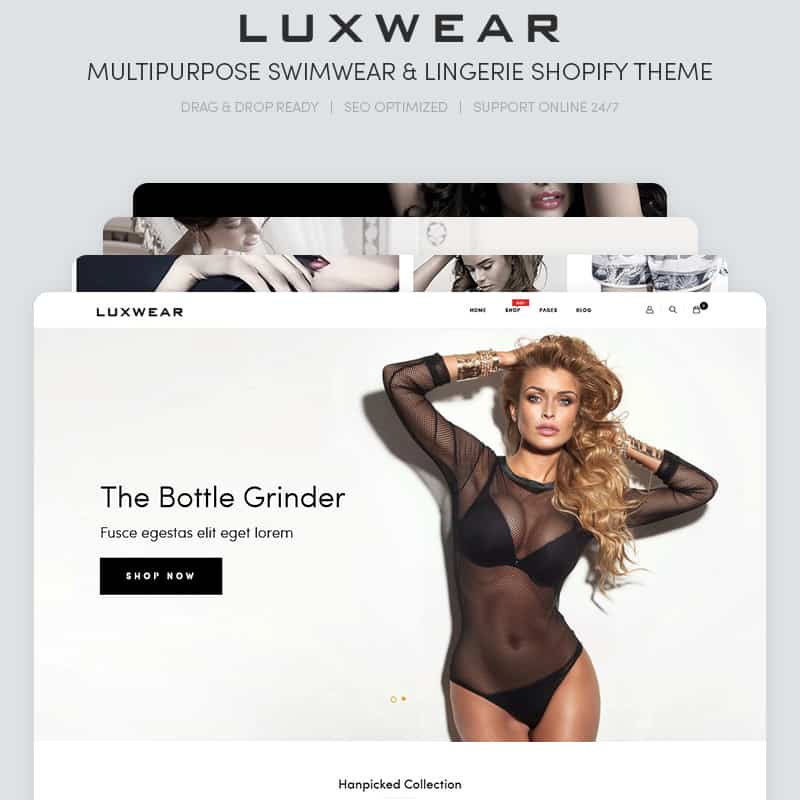 LUXWEAR - Multipurpose Swimwear & Lingerie Shopify Theme
