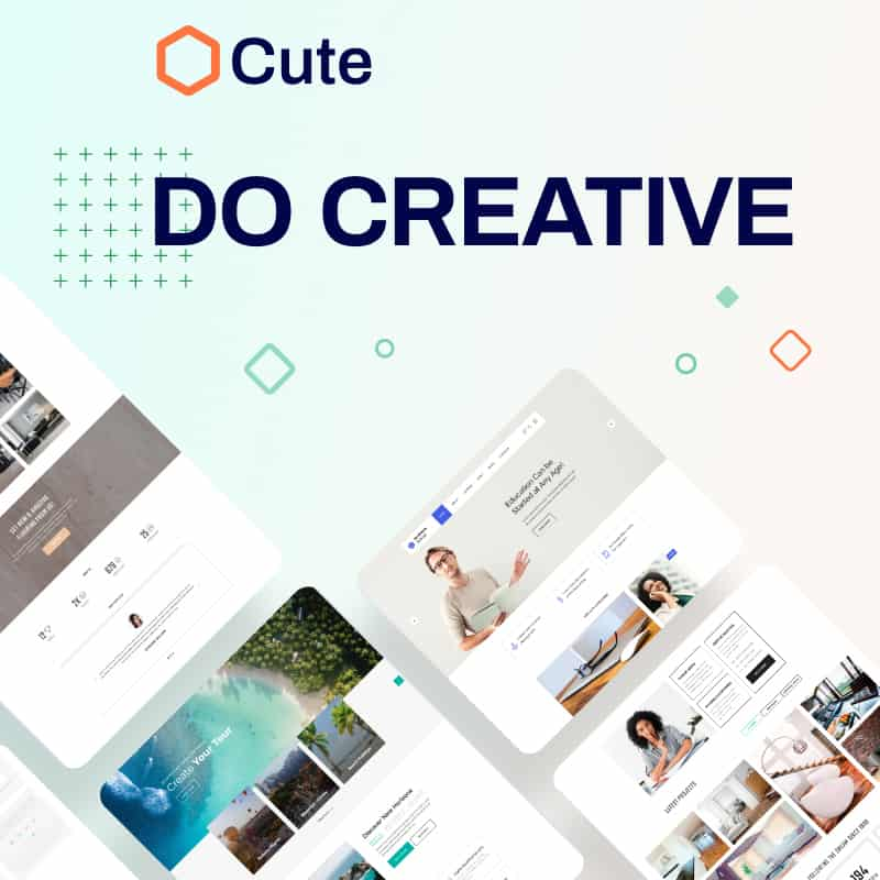 Cute Universal Website Template